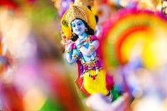 ινδό krishna Θεών στοκ εικόνα