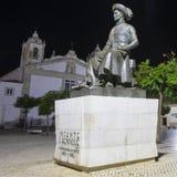 Ινφάντης Δ Άγαλμα Henrique στο Λάγκος Πορτογαλία Στοκ Εικόνες