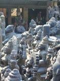 Ινδά είδωλα Θεών έτοιμα να πωλήσουν, Mahabalipuram, Ινδία Στοκ φωτογραφίες με δικαίωμα ελεύθερης χρήσης