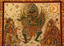 Ινδή ζωγραφική Garuda Στοκ εικόνες με δικαίωμα ελεύθερης χρήσης