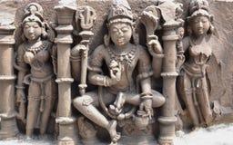 Ινδή θεότητα κεντρική Ινδία Στοκ Φωτογραφίες