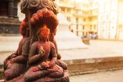 Ινδή θεότητα στο Κατμαντού Στοκ Εικόνες