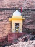 Ινδή θεότητα Ganesha στο οχυρό Mehrangarh Στοκ Φωτογραφία