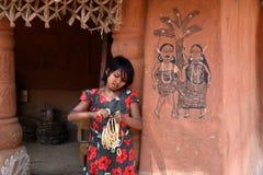 Ινδία αγροτική στοκ εικόνα με δικαίωμα ελεύθερης χρήσης