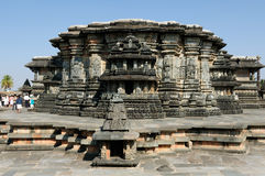 Ινδία, ναός Chennakesava στο Χασάν Στοκ Εικόνες