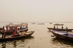 Ινδία Varanasi στοκ φωτογραφία