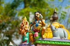Ινδικά αγαθά σε έναν ναό, στοκ φωτογραφίες
