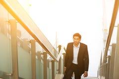 Ινδικά ανερχόμενος βήματα επιχειρηματιών Στοκ Εικόνες