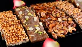 ινδικά γλυκά mithai στοκ φωτογραφία