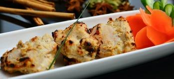 Ινδικά κομμάτια κοτόπουλου Στοκ φωτογραφία με δικαίωμα ελεύθερης χρήσης