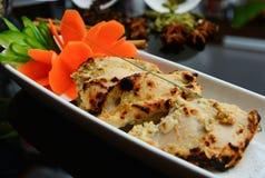 Ινδικά κομμάτια κοτόπουλου Στοκ Φωτογραφίες