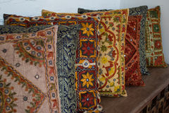ινδικά μαξιλάρια Στοκ Φωτογραφίες