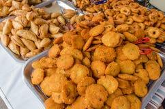 ινδικά πρόχειρα φαγητά Στοκ Εικόνα