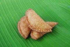 Ινδικά τρόφιμα γλυκό Somas στοκ εικόνα με δικαίωμα ελεύθερης χρήσης