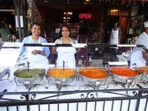 Ινδικά τρόφιμα στο φεστιβάλ Στοκ Εικόνες
