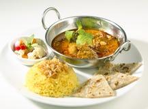 Ινδικά τρόφιμα Στοκ φωτογραφία με δικαίωμα ελεύθερης χρήσης