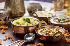 Ινδικά τρόφιμα Στοκ εικόνα με δικαίωμα ελεύθερης χρήσης