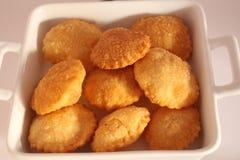 Ινδικά τρόφιμα Pani Puri Στοκ εικόνες με δικαίωμα ελεύθερης χρήσης