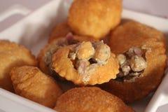 Ινδικά τρόφιμα Pani Puri Στοκ Εικόνες