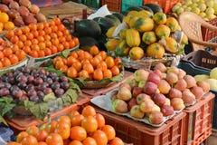 Ινδικά φρούτα και λαχανικά Στοκ εικόνα με δικαίωμα ελεύθερης χρήσης