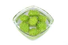 Ινδικά φρούτα μουριών της Noni. Στοκ Εικόνες