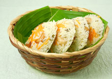 Ινδικά χορτοφάγα τρόφιμα Idli Rava στοκ φωτογραφία