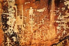 ινδικά petroglyphs Στοκ φωτογραφίες με δικαίωμα ελεύθερης χρήσης