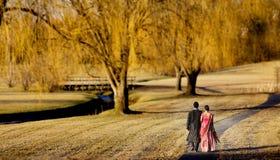 ινδικές νεολαίες ζευγώ&n Στοκ Εικόνες
