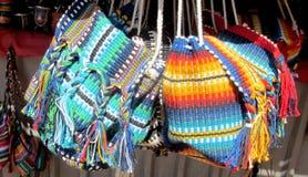 Ινδικές παραδοσιακές τσάντες αναμνηστικών Στοκ φωτογραφία με δικαίωμα ελεύθερης χρήσης