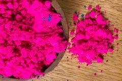 Ινδικές χρωστικές ουσίες Στοκ Εικόνες