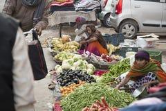 Ινδική αγορά, Ιανουάριος Στοκ Εικόνες