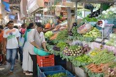 ινδική αγορά Στοκ φωτογραφία με δικαίωμα ελεύθερης χρήσης