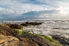 Ινδική ακτή Στοκ φωτογραφία με δικαίωμα ελεύθερης χρήσης