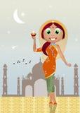 ινδική γυναίκα Στοκ φωτογραφίες με δικαίωμα ελεύθερης χρήσης