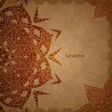 Ινδική εκλεκτής ποιότητας διακόσμηση Διανυσματική απεικόνιση για την επιχειρησιακή παρουσίασή σας Στοκ εικόνα με δικαίωμα ελεύθερης χρήσης