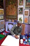 Ινδική ζωγραφική ατόμων, Udaipur, Ινδία Στοκ Εικόνες