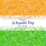 Ινδική ημέρα Δημοκρατίας Διανυσματική απεικόνιση