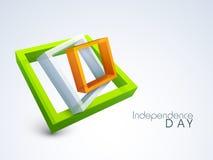 Ινδική ημέρα της ανεξαρτησίας Στοκ Εικόνες