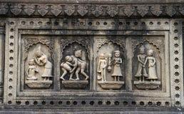 Ινδική ιστορική γλυπτική στοκ φωτογραφία με δικαίωμα ελεύθερης χρήσης