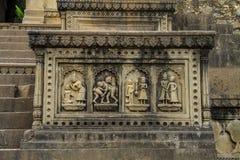Ινδική ιστορική γλυπτική στοκ φωτογραφία
