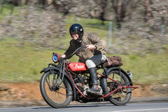 1924 ινδική κύρια μοτοσικλέτα 1000cc Στοκ Εικόνες