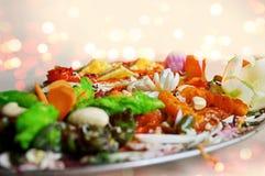 Ινδική κύρια σειρά μαθημάτων τροφίμων Στοκ Φωτογραφίες