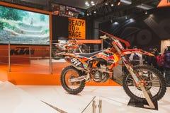 Ινδική μοτοσικλέτα σε EICMA 2014 στο Μιλάνο, Ιταλία Στοκ Εικόνα
