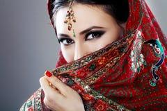 Ινδική ομορφιά στοκ φωτογραφία με δικαίωμα ελεύθερης χρήσης