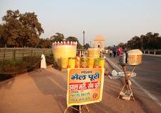 Ινδική οδός Foodi Στοκ εικόνες με δικαίωμα ελεύθερης χρήσης