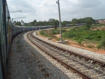 Ινδική ράγα κοντά στο Mysore στοκ φωτογραφία με δικαίωμα ελεύθερης χρήσης