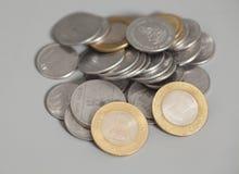 ινδική ρουπία νομισμάτων Στοκ Εικόνα