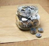 ινδική ρουπία νομισμάτων στοκ φωτογραφία