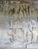 Ινδική τέχνη πετρών Στοκ φωτογραφία με δικαίωμα ελεύθερης χρήσης