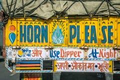Ινδική τέχνη φορτηγών Στοκ Εικόνες